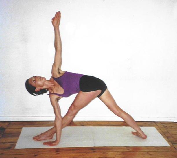 Yoga heben Linien auf